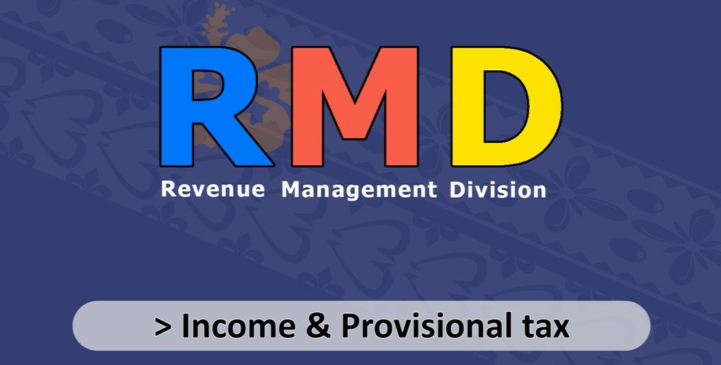 Income & Provisional Tax